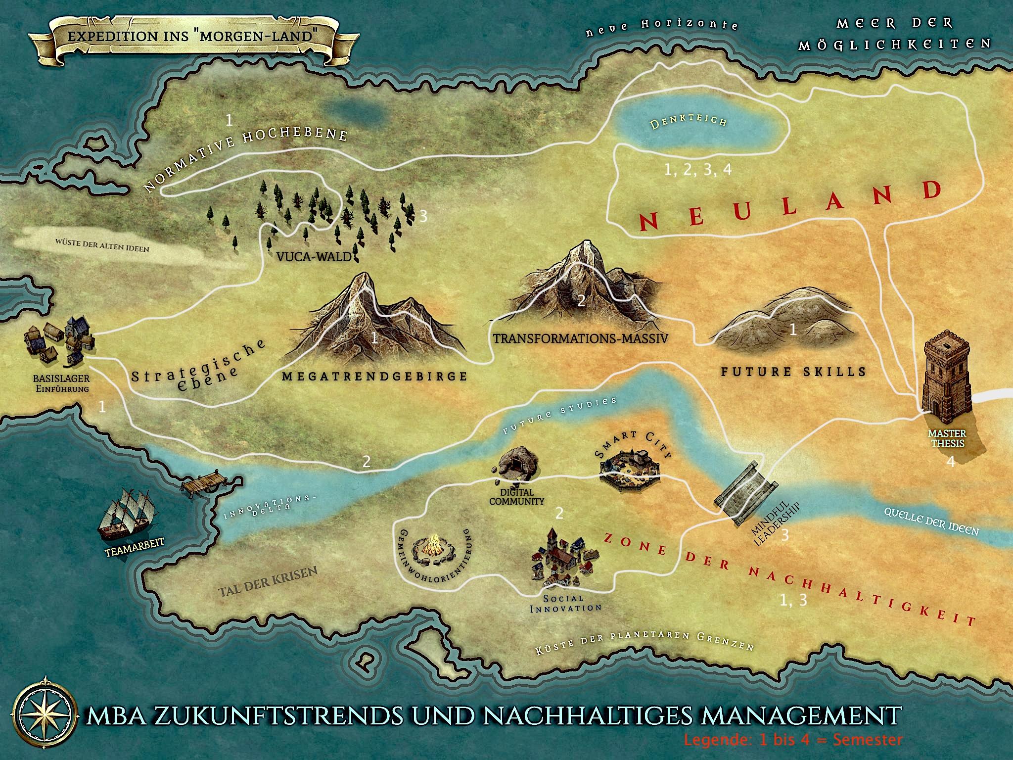 Expedition nach Neu-Land